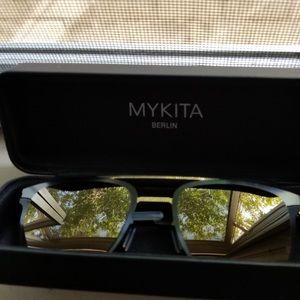 Mykita Hunter Gold Sunglasses